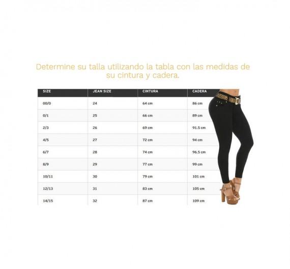 Medidor Virtual de Blusas, Jeans y Combinaciones